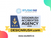 Studio52 received an Accredited Company badge by DesignRush
