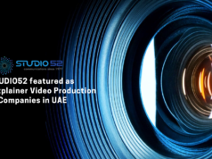 Studio52 featured - Top 5 Explainer Video Production Companies in UAEDubai-b7c7644c