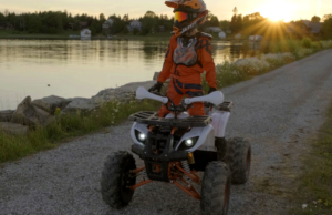 The all new Venom Grizzly 125cc ATV is now here